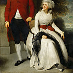 Thomas Lawrence -- Mr. and Mrs. John Julius Angerstein, the Banker and Art Collector, with his second Wife, Eliza Payne, Part 2 Louvre