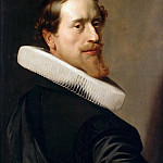 Nicolaes Eliasz. Pickenoy -- Self-portrait at the age of 36 years, Part 2 Louvre