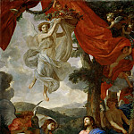 Part 2 Louvre - Charles Le Brun -- Christ in the Desert Served by Angels