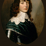 Gerrit van Honthorst -- Portrait of the Prince Palatine Edward, Part 2 Louvre