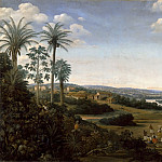 Frans Post -- House of a 'labrador' in Brazil, formerly called 'The Village of Serinhaem ', Part 2 Louvre
