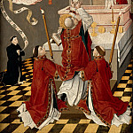 French School, from Burgundy or Amiens?; formerly attributed to the Flemish School, to the School of Picardie -- Mass of Saint Gregory , Part 2 Louvre