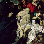 Pieter van Mol -- Descent from the Cross, Part 2 Louvre