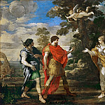 Part 2 Louvre - Pietro da Cortona (1596-1669) -- Venus, Hunting, appears to Aeneas