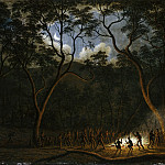 Part 2 Louvre - John Glover -- Aboriginal Corroboree in Van Diemen's Land (Moonlight Dance of the Aborigines in Van Diemen's Land, Tasmania; Natives at a Corrobory)