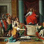 Nicolas Poussin -- Judgment of Solomon, Part 2 Louvre