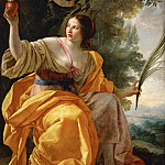 Simon Vouet -- Heavenly Charity, Part 2 Louvre