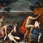 Alessandro Turchi -- The Flood, Part 2 Louvre