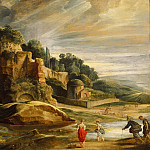 Part 2 Louvre - Peter Paul Rubens -- Landscape with the Ruins of the Palatine