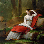 Part 2 Louvre - Pierre-Paul Prud'hon (1758-1823) -- Empress Josephine (1763-1814) in the Gardens of Malmaison