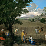 Part 2 Louvre - Nicolas Poussin -- Summer (Ruth and Boaz)