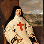 Mother Angélique Arnauld, Abbess of Port-Royal, Philippe De Champaigne