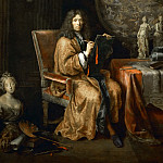 Part 2 Louvre - Pierre Mignard I -- Portrait of the Artist