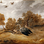 Part 2 Louvre - David Teniers II -- Heron Chase with the Archduke Leopold-William