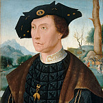 Part 2 Louvre - After Jan Mostaert -- Jan van Wassenaer (1483-1523), Vicomte of Leyden and Governor of Friesland