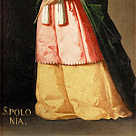 Francisco de Zurbarán -- Saint Apollonia, Part 2 Louvre
