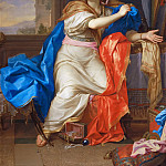 Part 2 Louvre - Charles Le Brun -- Saint Mary Magdalen Renounces All Pleasures of Life