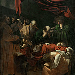 Part 2 Louvre - Michelangelo Merisi da Caravaggio (1571-1610) -- Death of the Virgin