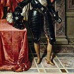 Frans Pourbus the younger -- Henry IV , King of France, in armor, Part 2 Louvre