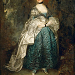 Thomas Gainsborough -- Lady Alston, Gertrude Durnford, Part 2 Louvre