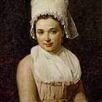 David, Jacques Louis -- Catherine-Marie-Jeanne Tallard , wife of Francois Lamy, mayor of Sougere/Yonne. Painted 1795 Canvas, 64 x 54 cm R.F.1740, Part 2 Louvre