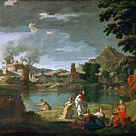 Part 2 Louvre - Nicolas Poussin -- Orpheus and Euridice