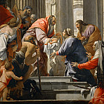 Simon Vouet -- Presentation in the Temple, Part 2 Louvre