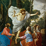 Laurent de La Hyre -- Christ Appearing to the Holy Women, Part 2 Louvre