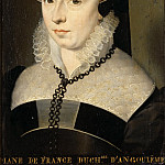 Studio of François Clouet -- Diane de France, Duchess of Angoulême, Part 2 Louvre