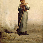 Part 2 Louvre - Jean-François Millet -- The Grass Burner
