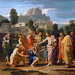 Part 2 Louvre - Nicolas Poussin -- Christ Healing the Blind of Jericho (Christ Healing the Sick)