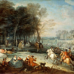 François Octavien -- The fair of Bezons, Part 2 Louvre