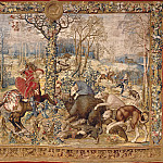 The Month of December, sign of Capricorn, Bernaert Van Orley