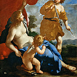 Part 2 Louvre - Giovanni Francesco Romanelli (1610-1662) -- Venus and Adonis Leaving for the Hunt