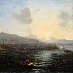 The port of Genoa, view of the sea, Claude Lorrain