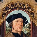 Jacob Cornelisz. van Oostsanen -- Portrait of Jan Gerritsz. van Egmond, Part 2 Louvre