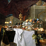 Part 2 Louvre - Jan Davidsz. de Heem -- A Table of Dessert