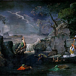 Part 2 Louvre - Nicolas Poussin -- Winter (Flood)