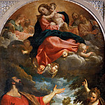 Apparition of the Virgin to Saint Luke and Saint Catherine of Alexandria, Annibale Carracci