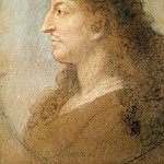 Part 2 Louvre - Le Brun, Charles -- Portrait of Louis XIV.