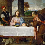 Part 2 Louvre - Titian -- The Pilgrims at Emmaus