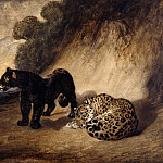 Antoine-Louis Bayre -- Two Peruvian Leopards, Part 6 Louvre