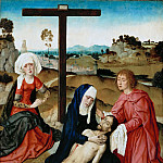 Dieric Bouts the Elder -- Lamentation, Part 6 Louvre