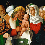 Part 6 Louvre - Bartolomeo Veneto -- The Circumcision