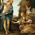 Part 6 Louvre - Francesco Albani (1578-1660) -- Noli Me Tangere (Christ and Mary Magdalene)