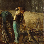 Part 6 Louvre - Jean-François Millet -- The Woodcutter
