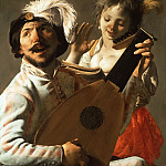 Part 6 Louvre - Terbrugghen, Hendrik, 1588?-1629 -- Duet