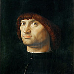 Part 6 Louvre - Antonello da Messina (c. 1430-1479) -- Portrait of a Man (Il Condottiere)