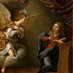 Part 6 Louvre - Albani, Francesco -- Annunciation