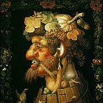 Giuseppe Arcimboldi -- Autumn, Part 6 Louvre
